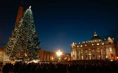 St. Peter's Square, Vatican City. #Christmas
