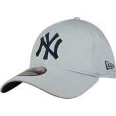 MLB New York Yankees New Era 39 Thirty Grey Mesh Flex Fit Hat 4f45cb35a0d