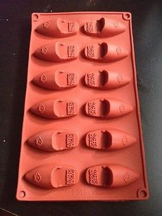 Moule Silicone 12 Babouches