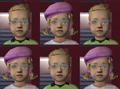 Mod The Sims - Frameless Toddler Glasses (MTS2 Exclusive)