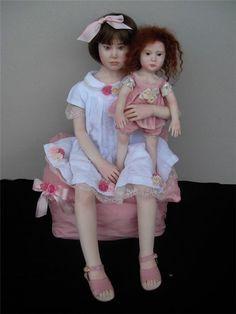 Amazing dolls Elisa Gallea dolls (Eliza Halley) / Dolls famous designers / Beybiki. Dolls photo. Clothes for dolls