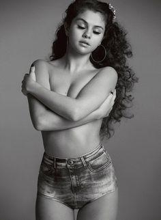 Селена Гомес — Фотосессия для «V» 2015 – 12