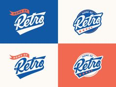 A couple of logo lock-ups that are part of an identity package that I put together for a recent client.