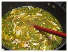 Cure the Sniffles Chicken Soup
