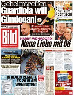 #20160309 #Germany #DeutscheZEITUNGenHEUTE Mittwoch MAR 09 2016 #Bild http://en.kiosko.net/de/2016-03-09/np/bild.html