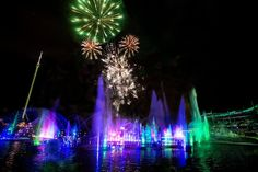 SeaWorld Orlando's Electric Ocean returns to the park starting May 28, with two new attractions and four new dining options to the fan-favorite event, plus a spectacular full-length fireworks show that will light up the night: Orlando Events, Ocean At Night, Visit Orlando, International Drive, Seaworld Orlando, Fireworks Show, Summer Events, Sea World, Event Calendar