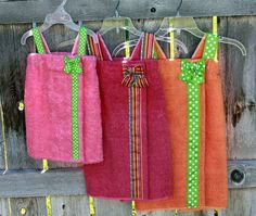 Child s Towel Wraps Spa Wraps--Set of 3--SALE--You 485108bbd