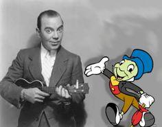 """Cliff Edwards """"Ukulele Ike"""": Voice of Jiminy Cricket"""