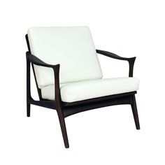 The Ash Wood Uptown Lounge Chair. oooh, is the chair even the lightest mint green?