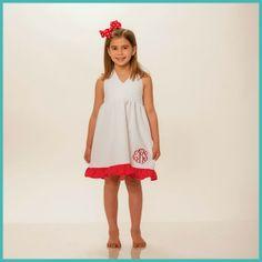2/12/2014  White & Red Polkadot Halter Dress