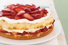 The perfect ending to a perfect day? A Simply Sensational Strawberry Shortcake. The perfect way to make it? We've got a step-by-video to show you how.