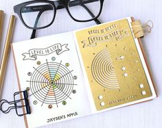 Bullet Journal Stencil, Planner Stencil, Level 10 Life Stencil - fits pocket, passport and field note (Level 10 S)