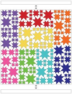 Constructing The Top   thought & found Star Quilt Blocks, Star Quilt Patterns, Star Quilts, Scrappy Quilts, Mini Quilts, Baby Quilts, Canvas Patterns, Quilting Tips, Quilting Projects