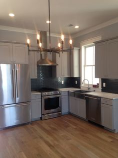 Grey Waypoint Kitchen. New KitchenCharlestonCabinetsCondosClosetsFitted ...