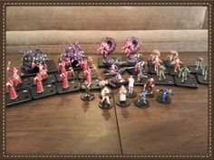 Figures that I painted for Mansions of Madness