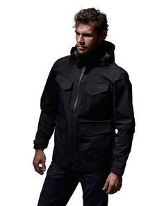 black MUSTO Neptune Jacket