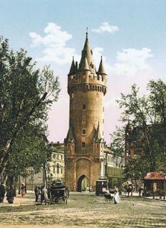 Photochrom Frankfurt Eschenheimer Turm