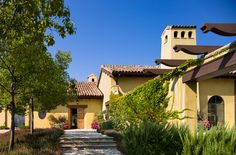 Residence in Napa County, Oakville, California Napa Style, Tuscan Style, Rustic Style, Spanish Colonial, Spanish Style, Colonial Exterior, American Modern, Southwest Style, Maine House
