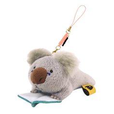 Amazon.co.jp | ウォンバットさんたち クリーナーストラップ コアラさん | Toys 通販