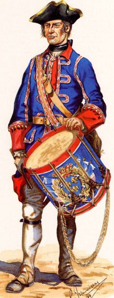 SYW- France: French Regiment Roussillon, 1757-1760, by R. Marrion.
