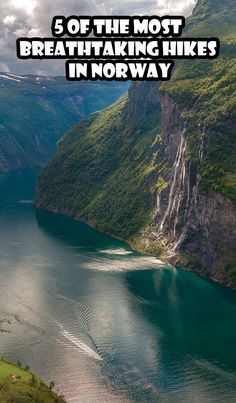 The best hikes in Norway? Skagefla, Trolltunga, Reinebringen, Preikestolen, Hermannsdalstinden summit. Five of the most breathtaking hikes in Norway.