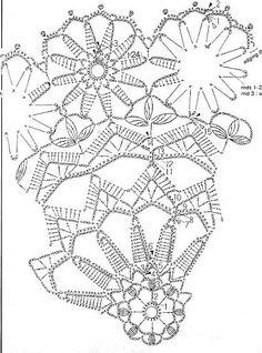 #68_MARGUERITE Flower Crochet Doily (part 3 of 5)