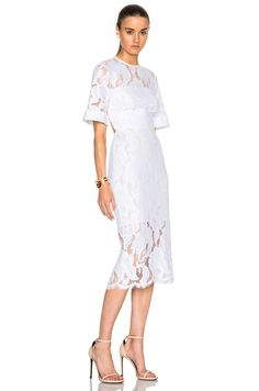 Lover Arizona Lace Dress in White