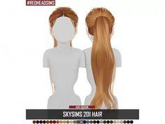 SKYSIMS HAIR KIDS 201 - The Sims 4 Download - SimsDom Polski