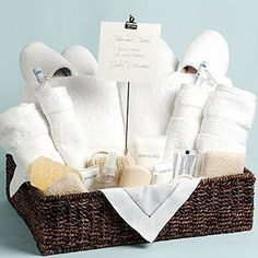 How to Create an Inviting Guest Suite: Guest Welcome Essentials Basket