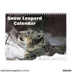 Shop 2020 Snow leopard Calendar created by sunbuds. Watercolor Animals, Snow Leopard, White Elephant Gifts, Dogs, Cute, Calendar Calendar, Shop, Calendar, Pet Dogs