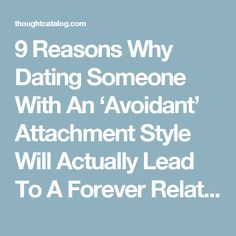 Dating someone with fearful avoidant attachment