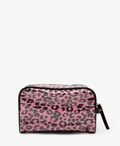 Animal Print Cosmetic Case | FOREVER21 - 1031878523