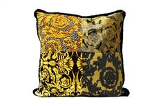 Patch Cushion #versace #versacehomeaustralia #palazzocollezioni #australia #sydney