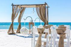 destin beach wedding decorations