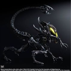 Aliens Colonel Marines Play Arts Kai Alien Spitter 2