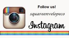 Follow us on Instagram!! #thesquareenvelopecompany #envelope #squareenvelopes #events #printing