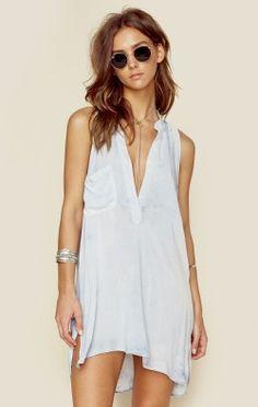 Blue Life Clothing Boho Dresses Sleeveless Shirt Dress Cute clothing site