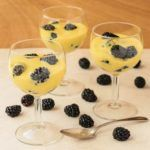 A recipe for zabaglione, an Italian custard made of egg yolks, sugar, and Marsala wine. It is served warm or chilled with berries, biscotti, and more.