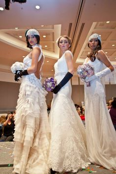 Premier Bridal Shows - Great Gatsby themed fashion show at our Long Beach Convention Center Bride Expo