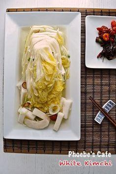 백김치 레시피 Korean Food, Kimchi, Food Styling, Cooking Tips, Cabbage, Food And Drink, Healthy Eating, Restaurant, Cheese