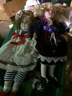 Collector's items - dolls