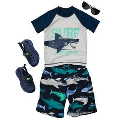 Ready for summmer  http://www.carters.com/null/Making-Waves---Toddler/Making%20Waves%20-%20Toddler,default,pd.html?cgid=carters-toddler-boy-swim-shop-outfitting