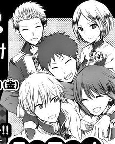 Akagami no Shirayukihime / Snow White with the Red Hair anime and manga    Shirayuki, Prince Zen, Obi, Mitsuhide, and Kiki