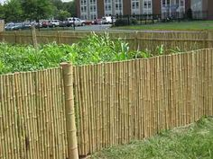 how to install your own bamboo fence