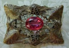 art nouveau victorian brooch by HDSIM