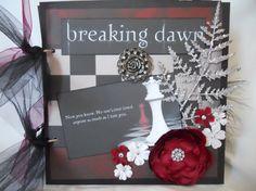 breaking dawn themed scrapbook