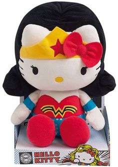 Hello Kitty Wonder Woman