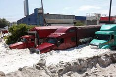Mexico hail storm: Guadalajara buried by ice - The Washington Post Beneath The Sea, Hail Storm, After The Storm, Busy City, Natural Phenomena, Back In Time, Bury, Mexico City, Weekend Is Over