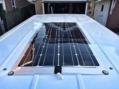 Campervan Solar Panel Installation - richard.mackney.com