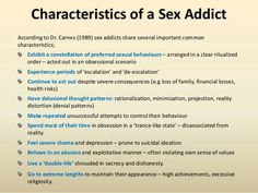 Sex addicts recovery